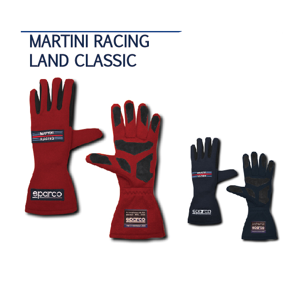 SPARCO/レーシンググローブ MARTINI RACING LAND CLASSIC
