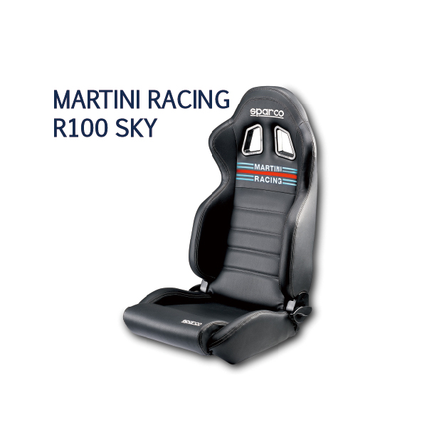 SPARCO/チューニングシート MARTINI RACING R100