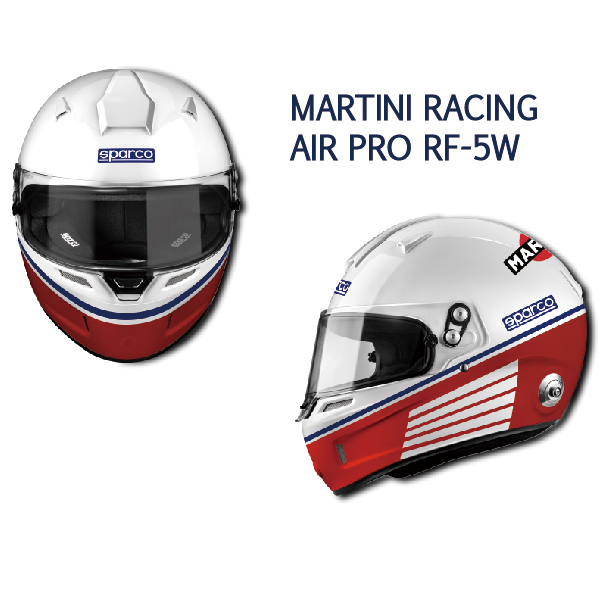 SPARCO/ヘルメット MARTINI RACING AIR PRO RF-5W
