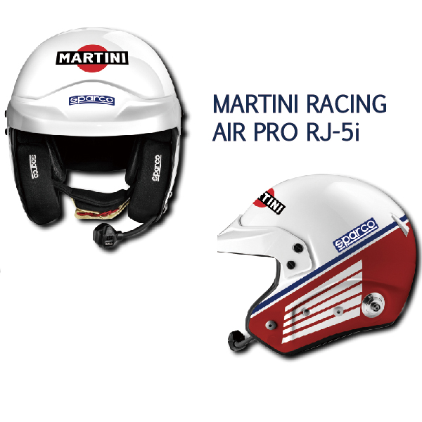 SPARCO/ヘルメット MARTINI RACING  AIR RJ-5i