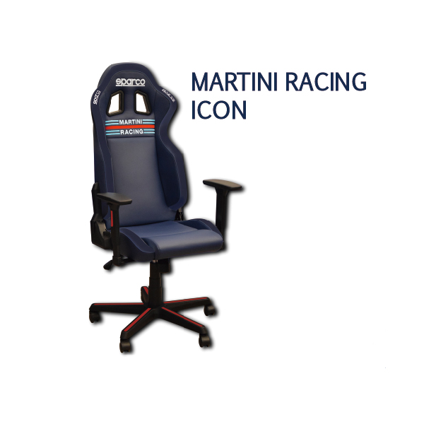 SPARCO/ゲーミングチェア MARTINI RACING ICON